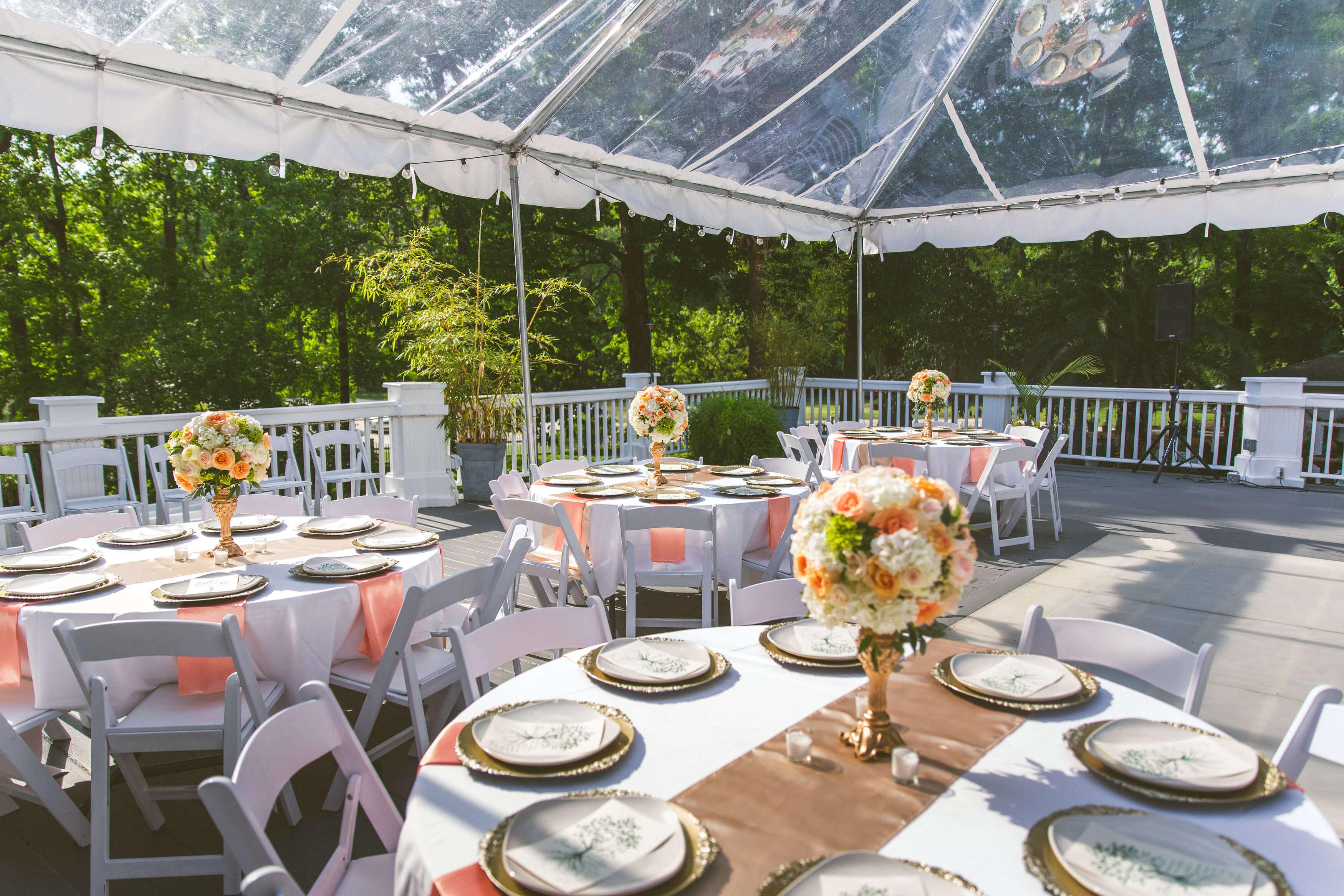 bridal shower locations Savannah GA